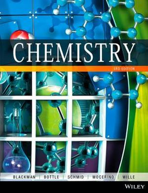 Cover of Chemistry 3E Brv+wileyplus Stand-Alone Card