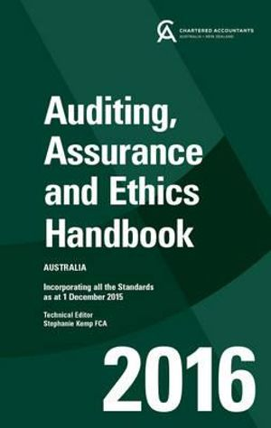 Cover of Auditing, and Assurance Handbook 2016 Australia
