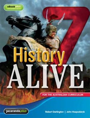 Cover of History Alive 7 for the Australian Curriculum