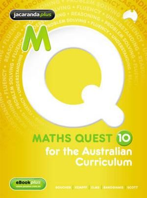 Cover of Maths Quest 10 for the Australian Curriculum