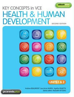 Cover of Key Concepts in VCE Health & Human Development