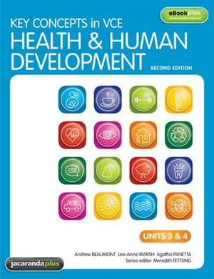 Cover of Key Concepts in VCE Health and Human Development Units 3&4 2E & eBookPLUS
