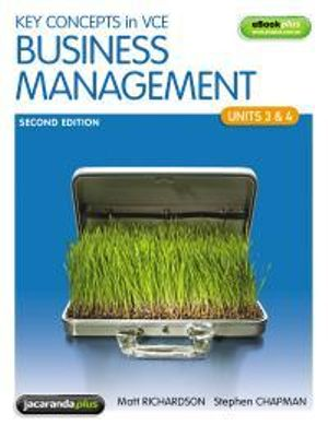 Cover of Key Concepts in Victorian Certificate of Education Business Management