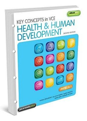 Cover of Key Concepts in VCE Health and Human Development