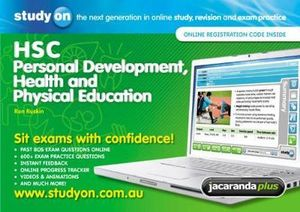 Cover of StudyOn HSC Personal Development, Health and Physical Education and Booklet