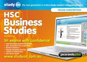 Cover of StudyOn HSC Business Studies & Booklet