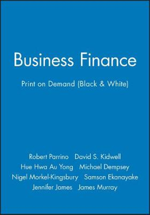 Cover of Business Finance 1E Print on Demand (Black and White)