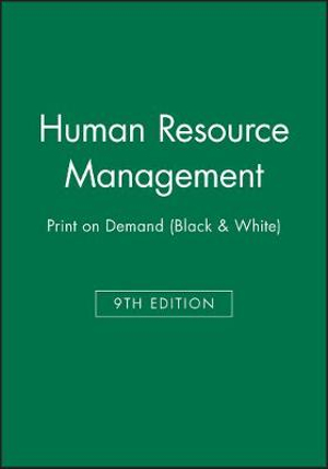Cover of Human Resource Management 9E Print on Demand (Black and White)