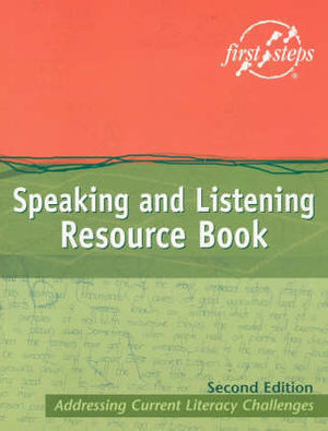 Cover of Speaking and Listening Resource Book
