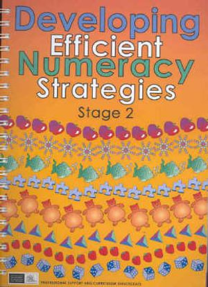 Cover of Developing Efficient Numeracy Strategies