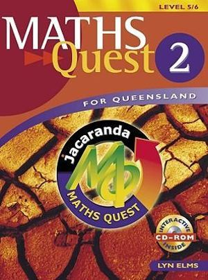Cover of Maths Quest for Queensland Book 2 Level 5/6 & EBookPLUS
