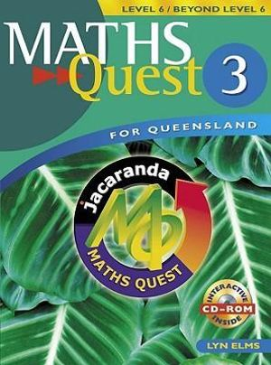 Cover of Maths Quest 3 for Queensland