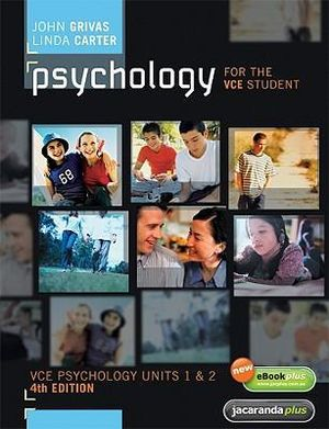 Cover of Psychology for the VCE Student