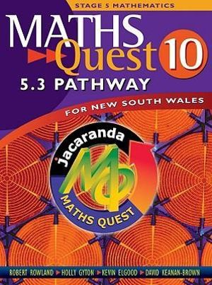 Cover of Maths Quest 10 for New South Wales