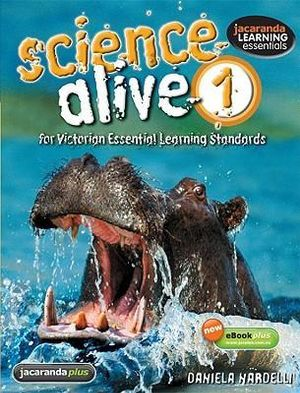 Cover of Science Alive for Victorian Essential Learning Standards