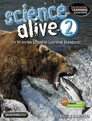 Cover of Science Alive 2 for Victorian Essential Learning Standards