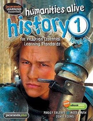 Cover of Humanities Alive History 1 for VELS & eBookPLUS