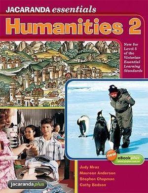 Cover of Jacaranda Essentials Humanities 2