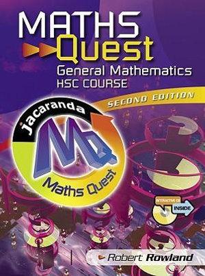 Cover of Maths Quest General Mathematics HSC Course 2E