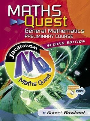 Cover of Maths Quest General Mathematics