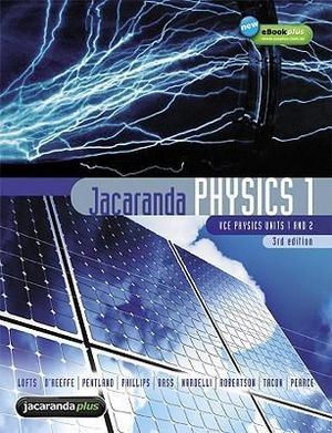 Cover of Jacaranda Physics One