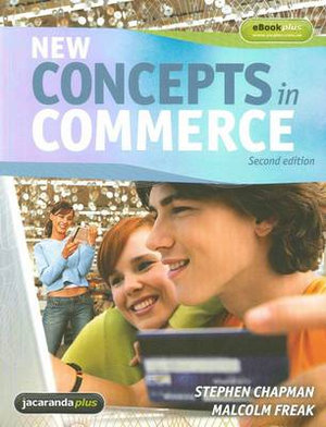 Cover of New Concepts in Commerce