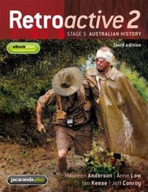Cover of Retroactive 2 3E Stage 5 Australian History & eBookPLUS