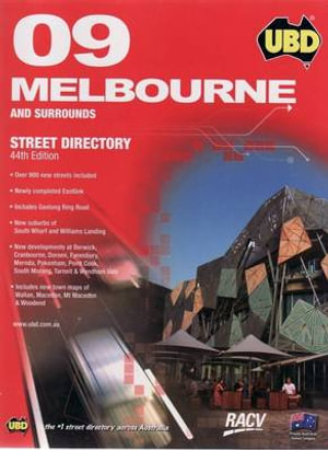 Cover of Melbourne and Surrounds Street Directory 2009