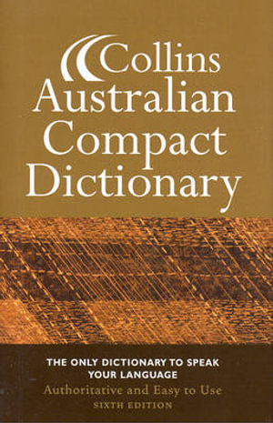 Cover of Collins Australian Compact Dictionary