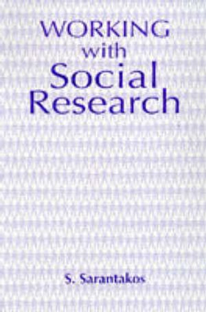Cover of Working with Social Research