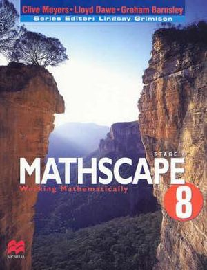 Cover of Mathscape 8
