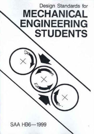 Cover of Design Standards for Mechanical Engineering Students