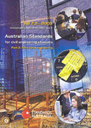 Cover of Australian Standards for Civil Engineering Students