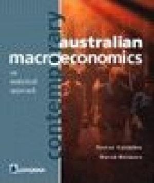 Cover of Contemporary Australian Macroeconomics