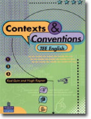 Cover of Contexts & Conventions English Tee Book 1