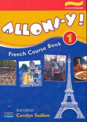 Cover of Allons-y! 1 Course Book - 2nd Ed