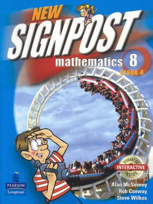 Cover of New Signpost Mathematics 8