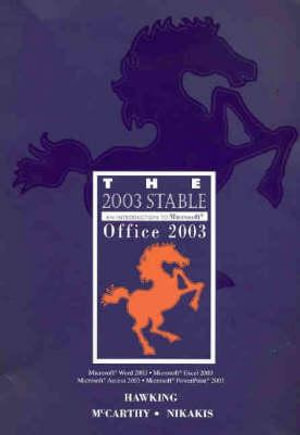 Cover of The 2003 Stable