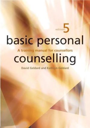 Cover of Basic Personal Counselling