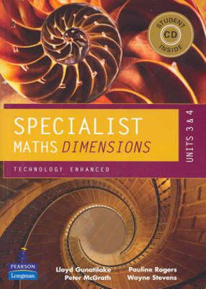Cover of Specialist Maths Dimensions
