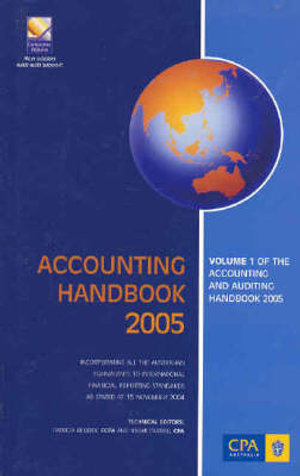 Cover of Accounting and Auditing Handbook 2005