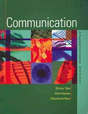 Cover of Communication A Foundation Course Main Edition