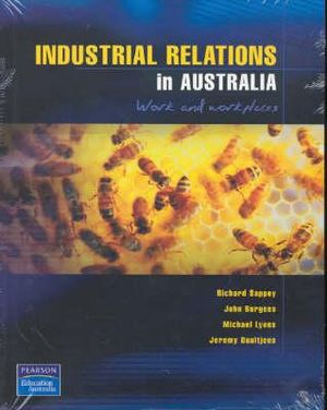 Cover of Industrial Relations in Australia