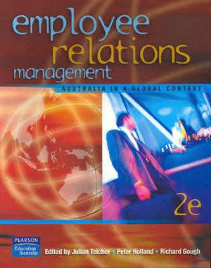 Cover of Employee Relations Management