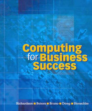 Cover of Computing for Business Success