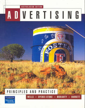 Cover of Advertising:Principles and Practice (Aust)