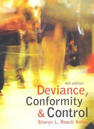 Cover of Deviance Conformity and Control