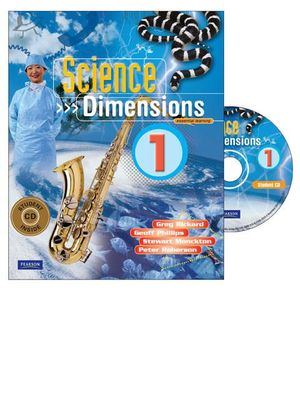 Cover of Science Dimensions 1 Coursebook