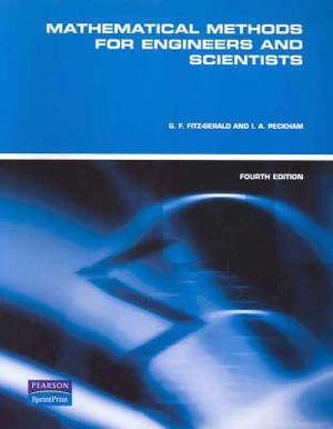 Cover of Mathematical Methods for Engineers and Scientists