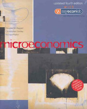 Cover of Microeconomics Updated Fourth Edition with MyEconLab